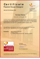 certification passivhaus designer