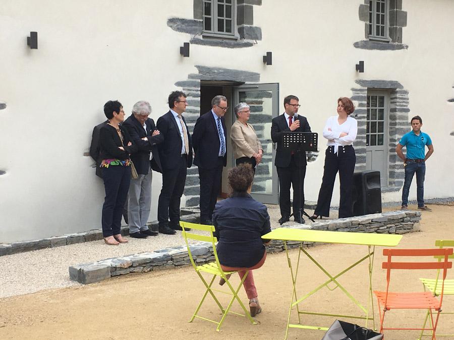 Inauguration Menez Meur
